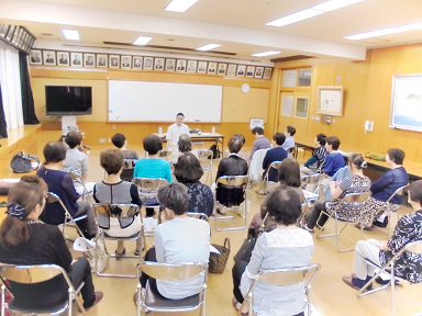 京都市下京区にて講演会